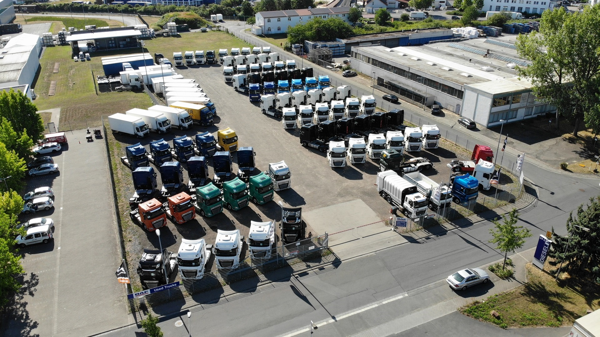 DAF-used-trucks-retail-center-Dieburg