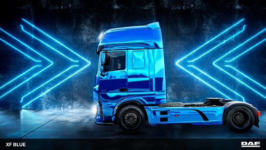 DAF BLUE wallpaper