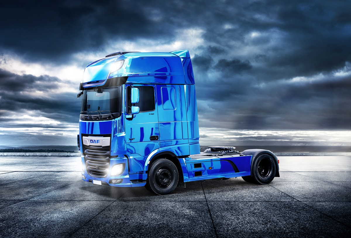 DAF XF BLUE Wallpaper Horizont 2