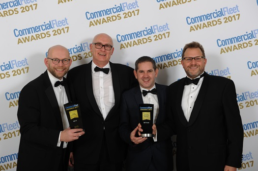 DAF receives Commercial Fleet Award 2017