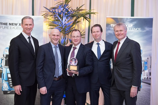 PACCAR Financial Dealer of the year