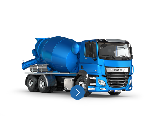 DAF CF FAT concrete mixer