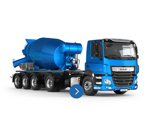 DAF CF FT concrete mixer