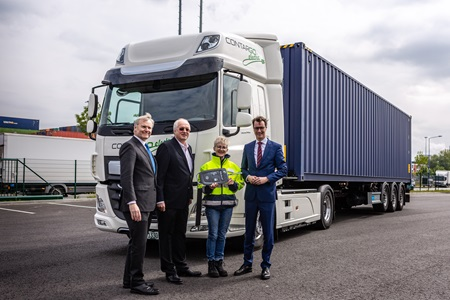 DAF CF Electric for Rhenus