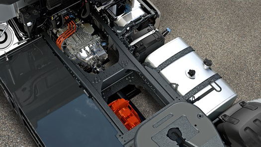 DAF-CF-Hybrid-Engine