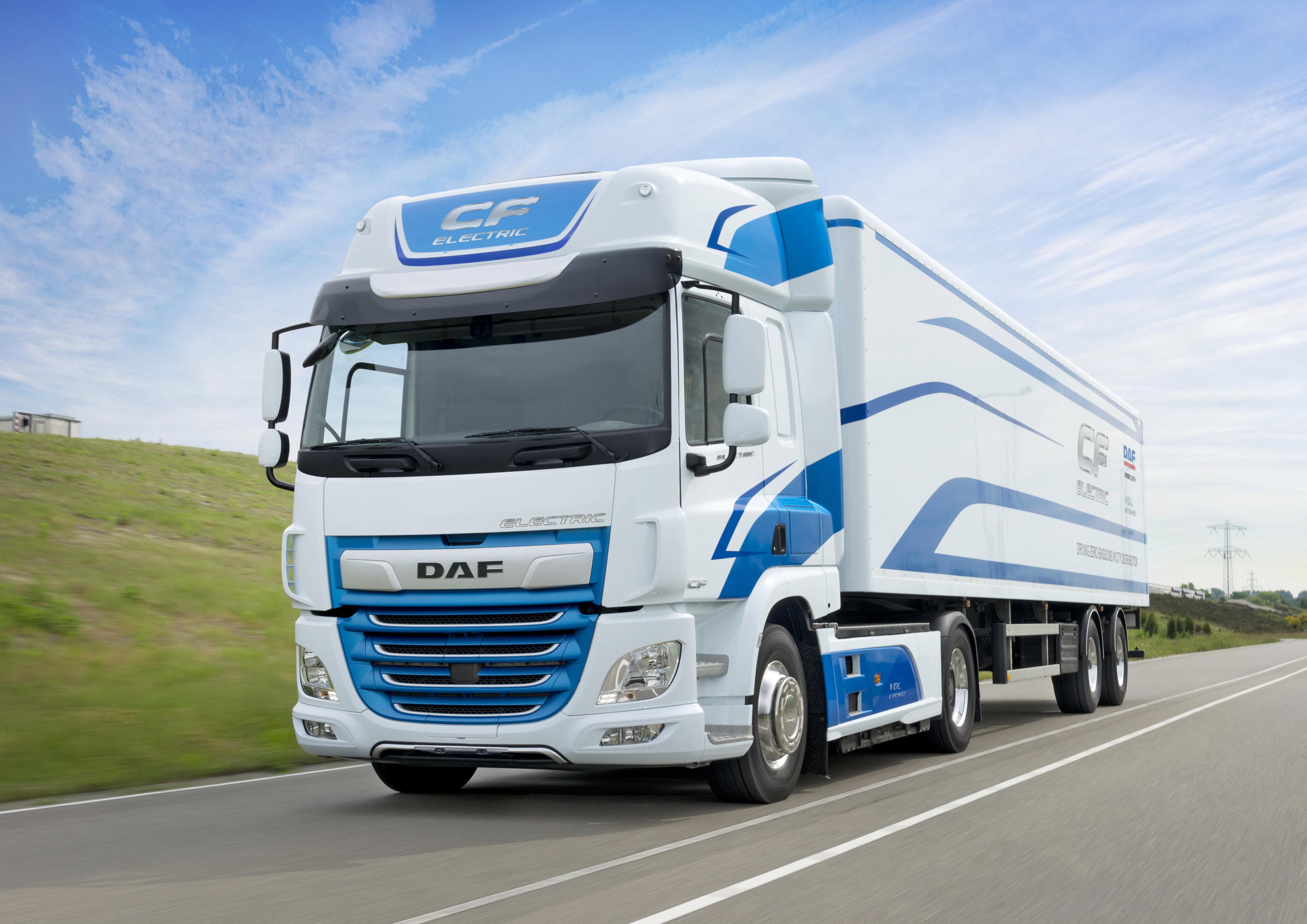 Elektro Und Hybridfahrzeuge Daf Trucks Deutschland Gmbh