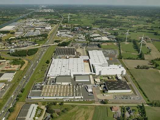 DAF Trucks Vlaanderen Cab and Axle factory
